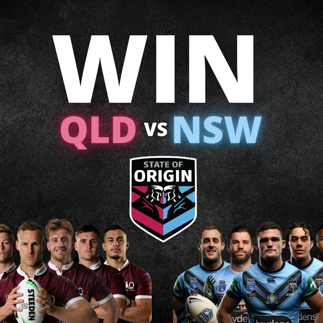 Win 2 tickets for the State of Origins match in Townsville